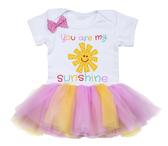 Ganz Baby Diaper Shirt You Are My Sunshine TuTu EA17250