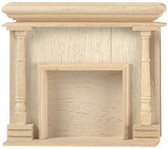"""Houseworks Monticello Fireplace 1"""" Scale 2401"""