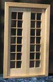 "Houseworks Classic French Doors 1/2"" Scale H6011"