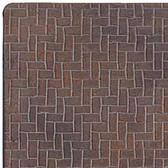 """Houseworks Herringbone Brick Sheet Latex 1/2"""" Scale H8210"""