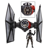 Star Wars TFA Black Series First Order TIE Fighter Vehicle And Fighter Pilot HSB3954