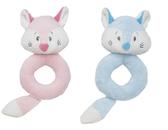 "Ganz Baby 5"" Finley Fox Ring Rattle BG3356  Blue"