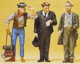 Preiser Conductor And Hobos G Scale 45099