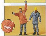 Preiser Fed Tech Emergency Workers G Scale 45016