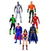 Justice League D.C. Rebirth Action Figure 7 Pack DCL21125
