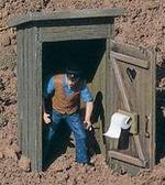 Piko Outhouse G Scale 62246