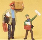 Preiser Porter And Newsboy G Scale 45063