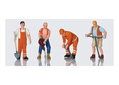 LGB Worker Figures 4 Pieces G Scale 51404