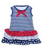 Ganz Baby Nautical Ruffle Dress ( 9-12 Months) BG3807