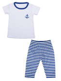 Ganz Baby Nautical T-Shirt And Pants Set ( 3-6 Months) BG3833