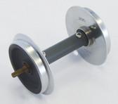 Piko BB Metal Wheelsets W/pickups 35mm 2 Pcs G Scale 36168