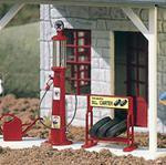 Piko Texaco Gas Pump And Accessories G Scale 62286