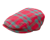 Ganz Plaid Newsboy Cap Cotton 6-12 Months EX20136