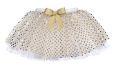Ganz TuTu Skirt Gold Dot 0-12 Months EX25434