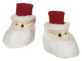 Ganz Santa Baby Slippers 0-12 Months BGX11547