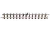 Piko Straight Track 239mm HO Scale 55200