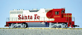 USA Trains GP38-2 G Scale Santa Fe Red/Silver