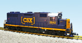 USA Trains CSX GP38-2 G Scale Locomotive