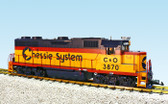 USA Trains G Scale GP38-2 Locomotive Chessie System