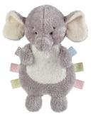 "Ganz Baby Wuzz Ribbon Crinkle Grey Elephant 11"" BG3973"