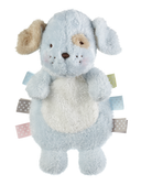 "Ganz Baby Wuzz Ribbon And Crinkle Puppy Blue 11"" BG3972"