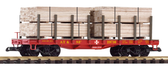 Piko SF Flatcar With Lumber Load 38740