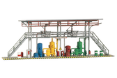 Piko Filling Station HO Scale 61105