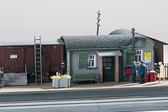Piko Temporary Railway Station HO Scale 61112