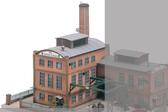 Piko HO Scale Glas Factory 61116