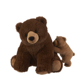 "Ganz 11"" Mamma Bear And Baby H14190"
