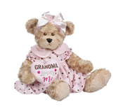 Ganz Dotty Dressed Bear Grandma Loves Me BGV9279