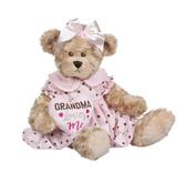 Ganz Dotty Dressed Bear Grandma Loves Me BGV9279
