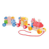 BigJigs Build Up Train BJT