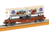 Lionel Hot Wheels 50th Anniversary Flatcar With Piggybacks O Scale 6-84707
