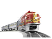 Lionel Santa Fe Super Chief LionChief Set O Gauge 6-84719