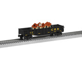 Lionel Construction RR Gondola With Signs O Scale 6-84766
