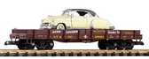 Piko SF Auto Transport with Diecast 1950 Chevy Bel Air #38746