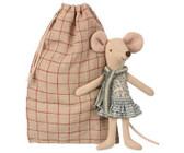 Maileg Winter Mouse Big Sister In A Bag 16-8739-00