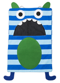 Ganz Blue Stripe Monster Laundry Eater 7105852