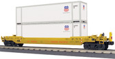 MTH Union Pacific Husky Stack Car With ETD O Scale  30-76759
