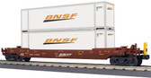 MTH BNSF Husky Stack Car With ETD 30-76757