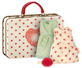 Maileg Mouse, Suitcase With 2 Sets Of Clothes 16-7789