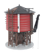 MTH RailKing Red W/Black Roof O Scale Water Tower 30-11086