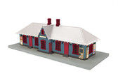 MTH RailKing Railtown Building North Pole Country Passenger Station W/lights 30-90587