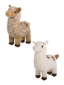 Ganz Lulu Llama White Or Brown H14329
