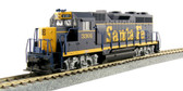 KATO GP35  AT & SF Blue #3301 HO Scale 37-3021