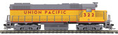 MTH Electric Trains GP38-2 Union Pacific Diesel Engine With Proto Sound 3.0 (#322) HO Scale 85-2038-1