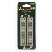"""Kato Unitrack N 124mm Straight Track 4 Piece 4 7/8"""" N Scale 20-020"""