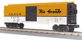 MTH Electric Trains RailKing Denver Rio Grande Box Car O Scale 30-74980