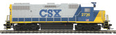 MTH Electric Trains CSX (2736) GP-38-2 Diesel Engine DCC Ready HO Scale 85-2020-0